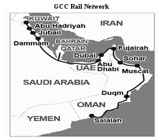 Text box: gcc rail network